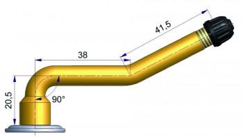 Вентиль с двойным изгибом  R-0579-9